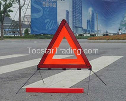 15090082 safety triangle,reflective triangle,warning triangle