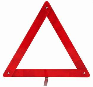 15080337 reflective triangle,warning triangle,car triangle warning sign