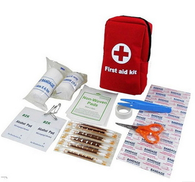 16020005 travel first aid kit,small first aid kit,first aid kit survival